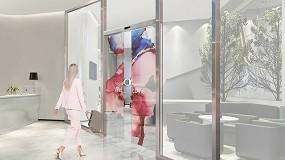 Foto de Assa Abloy Entrance Systems y LG Electronics desarrollan una nueva puerta automática transparente de OLED