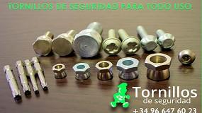 Foto de Las múltiples utilidades de los productos de Tornillos de Seguridad