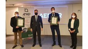 Foto de Aenor entrega a Plastigaur dos certificaciones que demuestran su compromiso con la sostenibilidad
