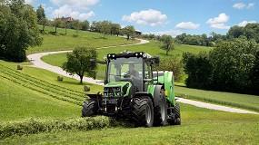 Foto de Deutz-Fahr 5D TTV: tractor multitarea con transmisión continua