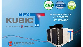 Foto de Hitecsa lanza al mercado Kubic Next, Roof Top Inverter con R-32