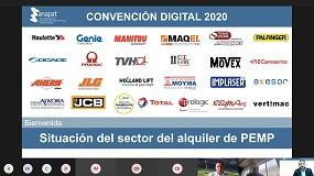 Foto de La Convención Digital Anapat 2020 constata la buena salud del sector de la plataforma aérea en España