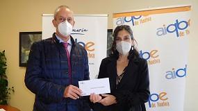 Foto de AIQBE financiará un proyecto social impulsado por Cáritas Huelva