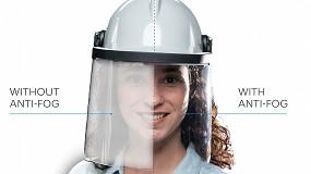 Foto de Nuevo film antivaho para visores, lentes y gafas de protección en entornos laborales de primera línea con alta humedad