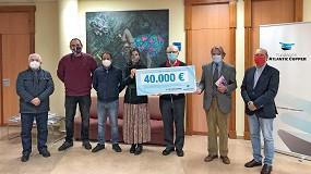 Foto de La Fundación Atlantic Copper entrega un cheque solidario a ocho asociaciones y organizaciones humanitarias de Huelva