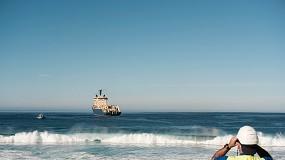 Foto de Cabo submarino transatlântico da EllaLink já ancorou em Portugal