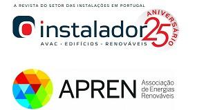 Foto de Revista O Instalador e APREN firmam parceria media partner