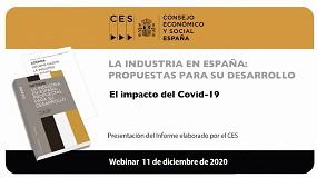 Foto de El DG de Feique presenta el Informe del CES 'La industria en España'