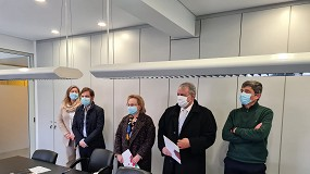 Foto de CCB e Presidência do Conselho Europeu da UE com Selo 'Ar Saudável' da APIRAC