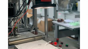 Foto de Sistemas de visión artificial autónoma para inspeccionar mascarillas FFP2