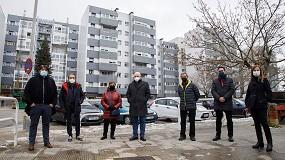 Foto de El Gobierno de Navarra rehabilitará 1.116 viviendas en 2021 a través del proyecto Efidistrict Txantrea