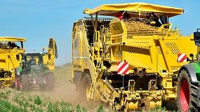Foto de ROPA demuestra el alto rendimiento de sus cosechadoras de patata