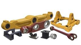 Foto de La más amplia gama de repuestos alternativos de chasis marca Blumaq para maquinaria Caterpillar