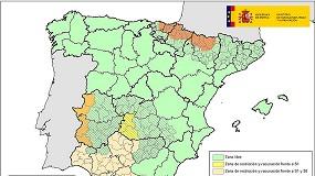 Foto de El mapa de la lengua azul en España se complica con nuevas zonas de vacunación y restricciones