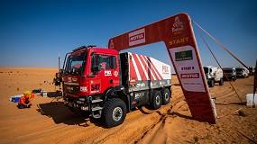 Foto de El PBX Dakar Team pone fin a su recorrido por Arabia Saudí