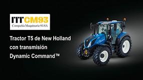Foto de Transmisión Dynamic Command, ahora también en la Serie New Holland T5