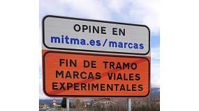 Foto de Mitma dispone nuevas marcas viales experimentales en varios tramos de la Red de Carreteras del Estado