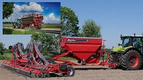 Foto de La sembradora arrastrada Kverneland DG II alcanza las 140 ha/día