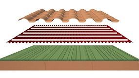 Foto de Sistema de rehabilitación energética para cubiertas inclinadas: SIATE de Cubierta Onduline