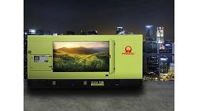 Foto de Pramac amplía su gama de generadores a gas natural