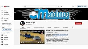 Foto de Metalmaq logra más de 60.000 visualizaciones de sus vídeos en Youtube