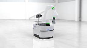 Foto de Un robot colaborativo móvil para numerosas aplicaciones industriales