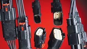Foto de Sistema de conector sellado de montaje en panel e híbrido para vehículos