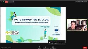 Foto de Jornada 'La descarbonización de los edificios en el marco de la economía circular'