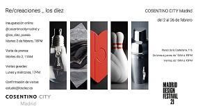 Foto de Cosentino en el Madrid Design Festival 2021