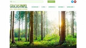 Foto de Graciaspapel, la nueva web del papel y el medio ambiente