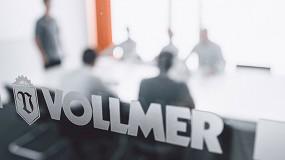 Foto de Vollmer Ibérica se incorpora a AIMHE como socio de pleno derecho