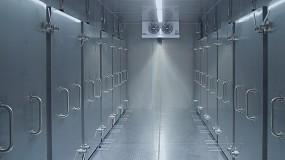 Foto de Cámaras frigoríficas para la vacuna Covid-19 con cables de Lapp