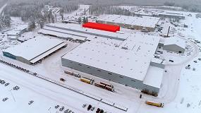 Foto de Valtra estrenará taller de pintura en la fábrica de Suolahti