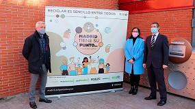 Foto de Ecolec presenta 'Madrid tiene su punto' para informar sobre la importancia de usar los Puntos Limpios Municipales
