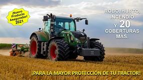 Foto de Cicor lanza un nuevo seguro con cobertura a todo riesgo para tractores