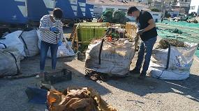 Foto de RepescaPlas logra obtener nuevos productos de alto valor añadido de las basuras marinas gracias al reciclado químico y aborda su cuarta anualidad
