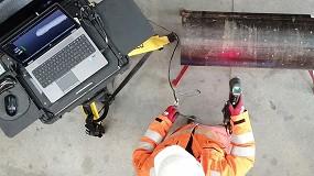 Foto de Los escáneres 3D reemplazan los métodos tradicionales para la inspección de tuberías