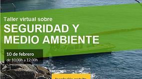 Foto de Conterol organiza un taller virtual sobre seguridad y medio ambiente el 10 de febrero