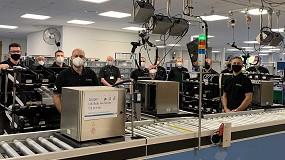 Foto de La planta de fabricación de Domino en Reino Unido supera las 30.000 unidades fabricadas de su Serie Ax