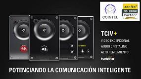Foto de Zenitel lanza los videointerfonos TCIV+ que potencian los equipos de seguridad