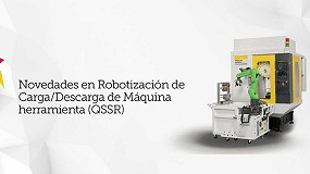 Foto de Fanuc celebra un webinar sobre carga y descarga robotizada de máquina-herramienta