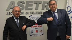 Foto de ASETRA y NATRAM rubrican un acuerdo de colaboración en beneficio de los talleres madrileños