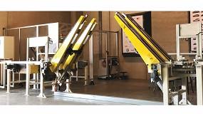 Foto de Ewab Engineering diseña una línea automatizada para manipular piezas