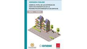 Foto de Jornada on-line sobre el papel de las empresas de servicios energéticos en la rehabilitación energética de edificios