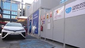 Foto de Estaciones de servicio e hidrógeno, pareja de éxito