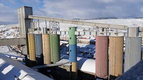 Foto de 'Filomena' hace que el consumo de cemento caiga un 19% en enero