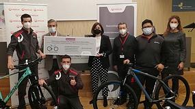 Foto de El equipo de Veolia en el Hospital de Sant Joan Despí, galardonado por la mejor propuesta en materia de seguridad en las tareas de mantenimiento del centro