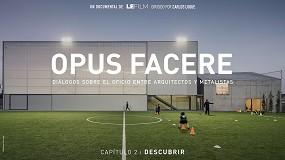 Foto de Estreno de Descubrir, el segundo capítulo del documental de arquitectura Opus Facere