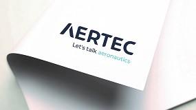 Foto de Aertec potencia su carácter aeronáutico y tecnológico con la nueva identidad corporativa