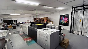 Foto de Trama Entorno Gráfico, pionera en impresión 100% digital gracias a la tecnología de Canon